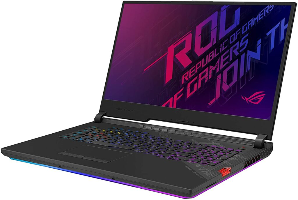 ASUS ROG 17 inch gaming laptop review
