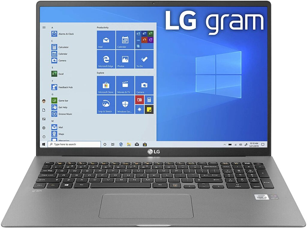 LG Gram 17 inch laptop review